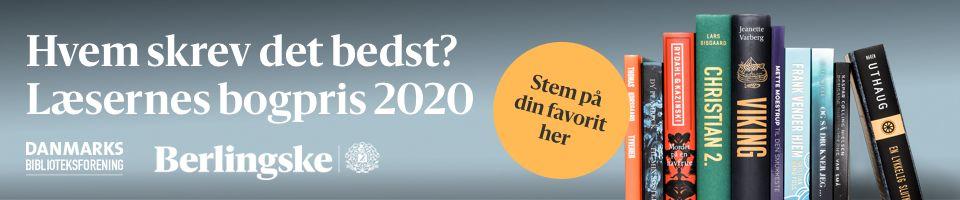 Logo for Læsernes Bogpris 2020