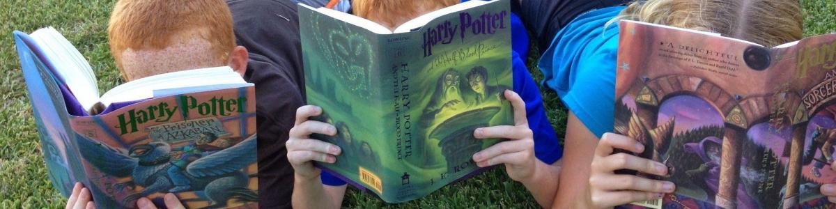 Børne der læser