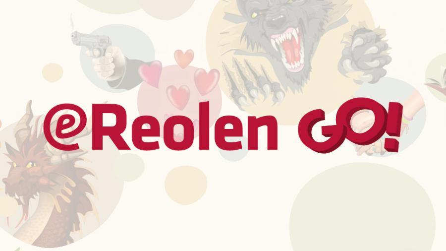Logo for eReolen Go