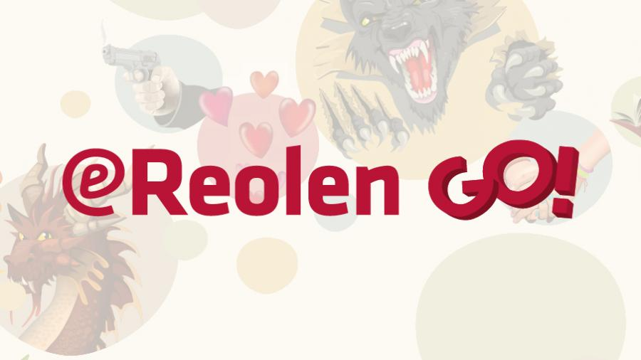 Logo for eReolen Go