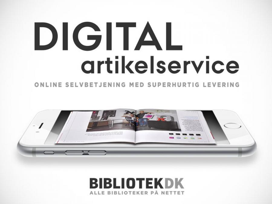 Logo for Digital artikelservice.
