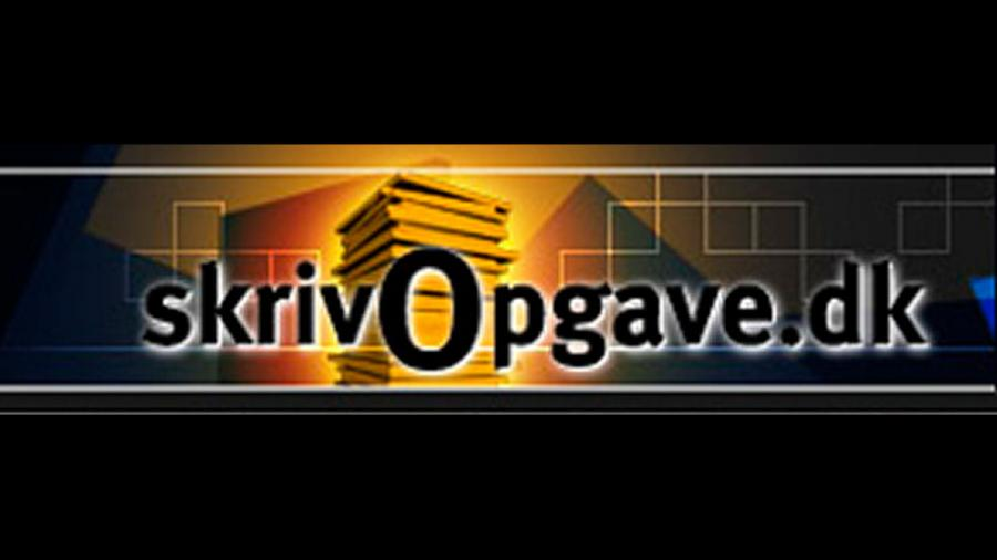 Logo for SkrivOpgave