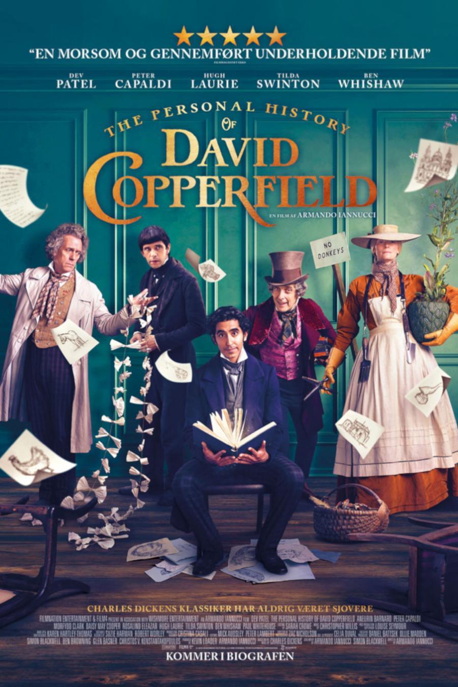 Filmplakat af David Copperfield